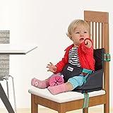 Boostersitz fur Kleinkinder - Praktischen aufblasbarer kindersitz | Leicht in der Tasche verstaubar, einfach auf dem Stuhl montierbar - Reisesitz, Tragbar Sitzerhöhung mit Luftpolster