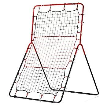 Franklin Sports Baseball Rebounder Net - 3-Way Baseball + Softball Pitchback Net + Fielding Trainer - Bounce Back Net for Fielding + Throwing Practice