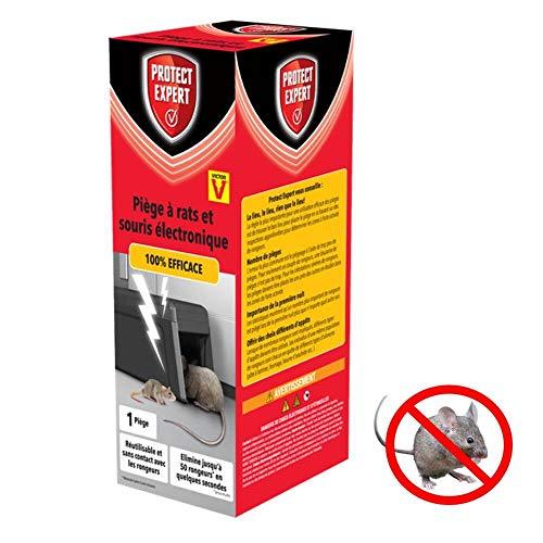 PROTECT EXPERT Victor RASOUTRAP Piège À Rat Electronique-Rapide, Précis Et Faciles A Utiliser, Incolore