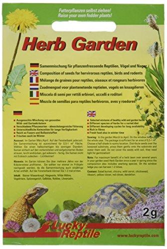Lucky Reptile Herb Garden - Wildkräutermischung 2 g, 5er Pack (5 x 2 g)