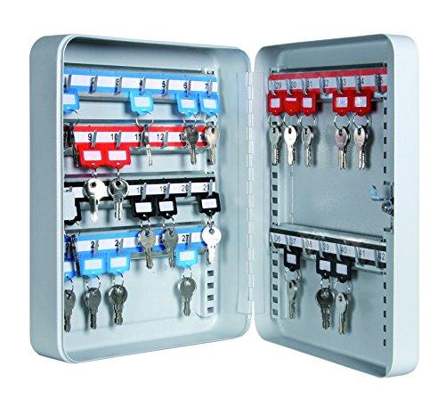 Schlüsselkasten Schlüsselschrank für 42 Schlüssel mit 42 Schlüsselhaken - 300x240x80mm