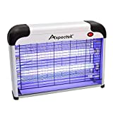 ASPECTEK - Fly and Insect Killer 20W UV light Attract to Zap Flying Insects Playing Excellent Role as Bug Zapper, Insect Killer, Fly Zapper, Fly Killer, Fly Swatter, Wasp Killer UK PLUG