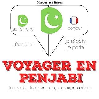 Couverture de Voyager en penjabi, 300 mots phrases et expressions essentielles et les 100 verbes les plus courants