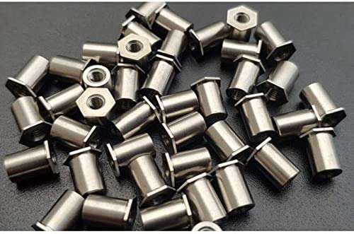 Lysee Screws - 50pcs lot M3L Mail order 3-20 steel through-ho Finally popular brand stainless 304