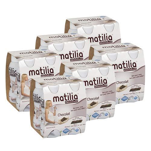 Matilia - Boisson Lactée Grossesse - Chocolat - Riche en Vitamines et en Minéraux - Femme enceinte...