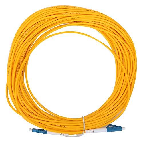 LWL Patchkabel, LC/UPC zu LC/UPC Singlemode LWL Patchkabel Kabel Keramikhülse 15m