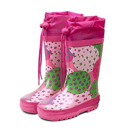 Sterntaler Mädchen Gummistiefel, Pink (Hortensie), 33/34 EU