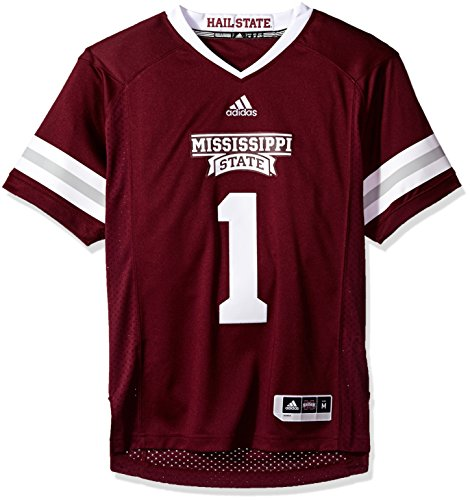 White No. 85 Game Used Mississippi State Nike Football Jersey (SIZE 50)