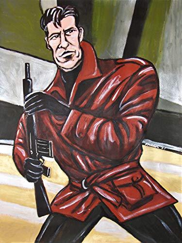 James Bond 007 Print Poster Pierce Brosnan Tomorrow Never Dies