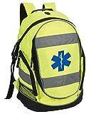 Star of Life Hi-Vis - Mochila de trabajo para primeros auxilios, paramédico, ambulancia...