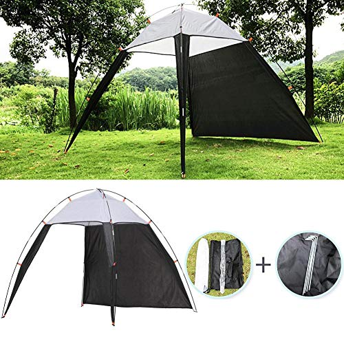 Sonnenschutz für Strand, Kanopäus, für den Außenbereich, Strandzelt, UV-Schutz, wasserdicht, Sonnenzelt, für Camping, Reisen, Camping, Angeln, geeignet für 5 – 8 Personen