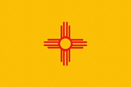 U24 Drapeau New Mexico 90 x 150 cm