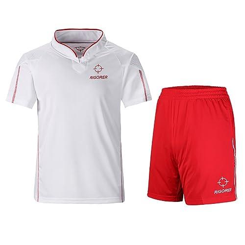 57b2d64b6 RIGORER Short-Sleeve Soccer Uniforms Jersey and Shorts Set