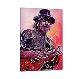 baozou Carlos Santana Poster berühmter Gitarristen,