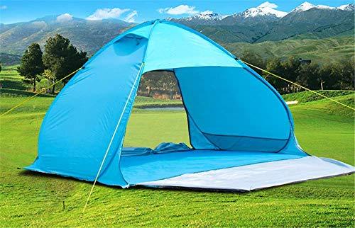 Manyao Playa Tentoutdoor Completamente automático rápido Movimiento Parque 3 a 4 Personas Shade refugios -Protegido Camping Sun