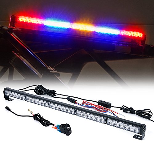 "Xprite 30"" Offroad LED Rear Chase Strobe Light bar w/Brake Reverse Turn Signal Light for Polaris RZR XP 1000 900, UTV, ATV, Side by Sides, 4x4, Trophy Truck - RZ Series RYWYR"