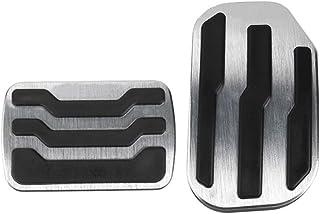 JIRENSHU Pastillas del Pedal del Freno del Acelerador de la Placa de Descanso del Freno, para Ford F150 Pickup 2015-2019