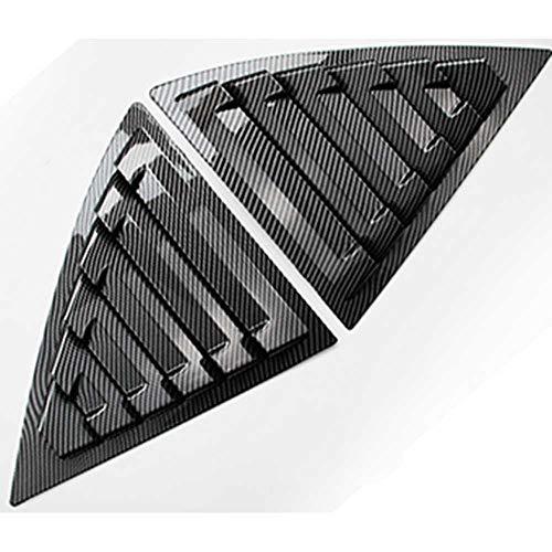 TPHJRM Cubierta de la lumbrera de la Ventana Trasera de la ventilación Lateral del Coche, para Chevrolet Malibu 2011-2014