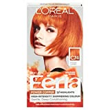 L'Oreal Paris Feria Power Copper High-Intensity Shimmering Colour, Intense Copper [C74] 1 ea (Pack of 2)