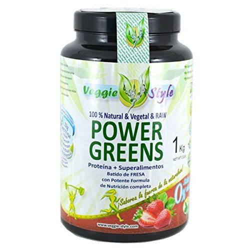 Power Greens - 1Kg - Sabor Vainilla