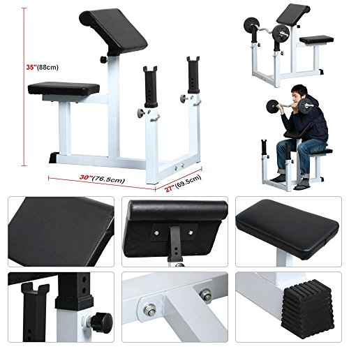 Topeakmart Commercial Olympic Bar/Barbell Set Lifting Exercise Home Gym