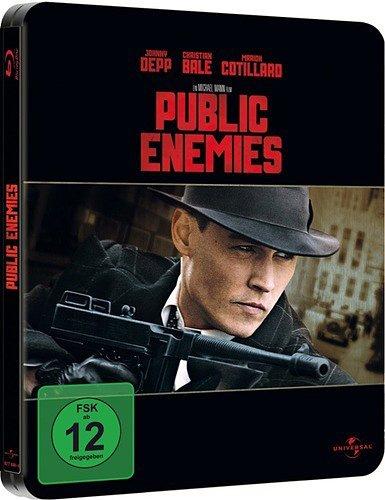 Public Enemies - streng limitierte Steelbook Edition (Schriftzug geprägt) Blu-ray