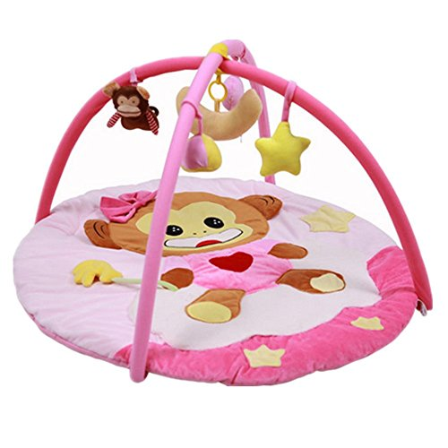 Rainbow Fox bébé Playmats sol Les gymnases Couverture animal singe, filles en train de dormir couverture (#3)