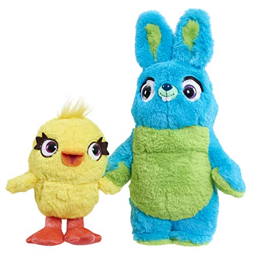 Disney-Pixar's Toy Story 4 Talking Ducky & Bunny Plush,Multi-color