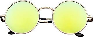 FIKO - Ozzy - Gafas de sol para hombre y mujer, pequeñas y grandes, XL Lennon redondas, redondas