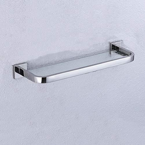 XUXUEYAN badkamer rek gehard glas rek 304 roestvrij staal handdoekhouder badkamer toilet opslagrek wandbehang