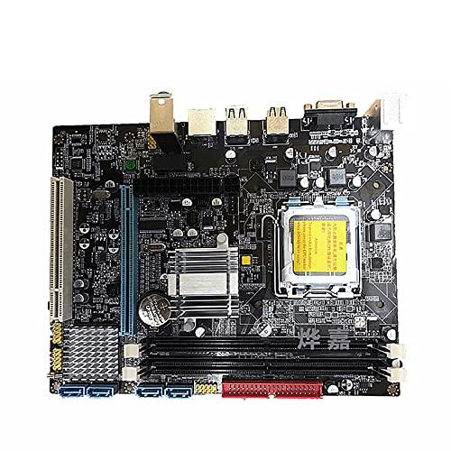 Placa Base para minería BTC, Placa Base para computadora de Escritorio 775 DDR2, Placa Base para máquina minera 1 × PCI-E X16, Placa Base para Juegos de CPU con Ranura gráfica