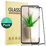 RIIMUHIR - Protector de pantalla para Samsung Galaxy S10E [2 unidades], 3D curvado, cobertura completa, película protectora de cristal templado para Samsung S10E, dureza 9H, antiarañazos, sin burbujas