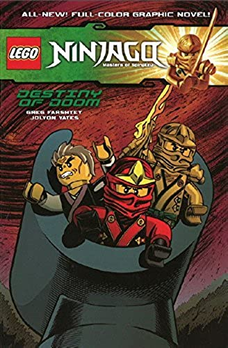 ventas en línea de venta Lego Ninjago Ninjago Ninjago Vol.8 - Destiny of Doom by Greg Farshtey (9-Jan-2015) Paperback  caliente