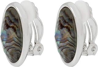 Aretes de Mujer con Diseño tipo Botón Color Plata - Aleación con Acero Inoxidable - Joyería oficial
