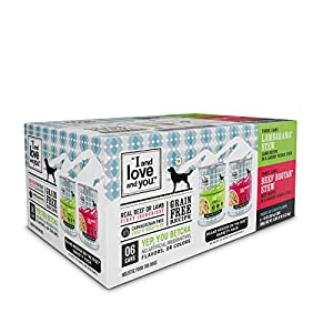 """""""I and love and you"""" Naked Essentials Wet Dog Food – Grain Free and Canned (Variety of Flavors)"""