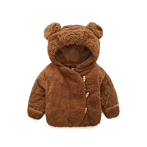 Longra mantel met capuchon, imitatiebont, meisjes, jongens, baby, winter, warm, zacht, ultra dik, babyjas, cloak, kinderparka