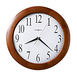 Howard Miller Corporate Wall Clock 625-214 – Modern & Round with Quartz Movement