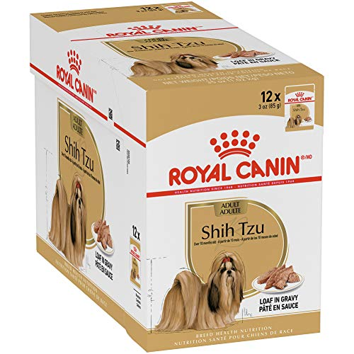 Royal Canin Adult Shih Tzu Wet Dog Food, 3 oz Pouch (Pack of 12)