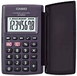 Calculadora Casio de bolso, visor XL, 8 dígitos e deslig. Automático HL-820LV - Preta