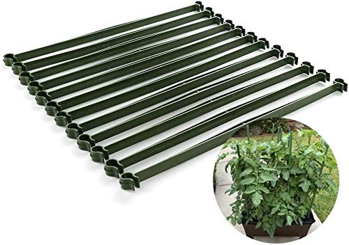UWIOFF 36 Pcs Stake Arms for 67% OFF of fixed price Bargain sale Inches 11.8 Expandable Cage Tomato
