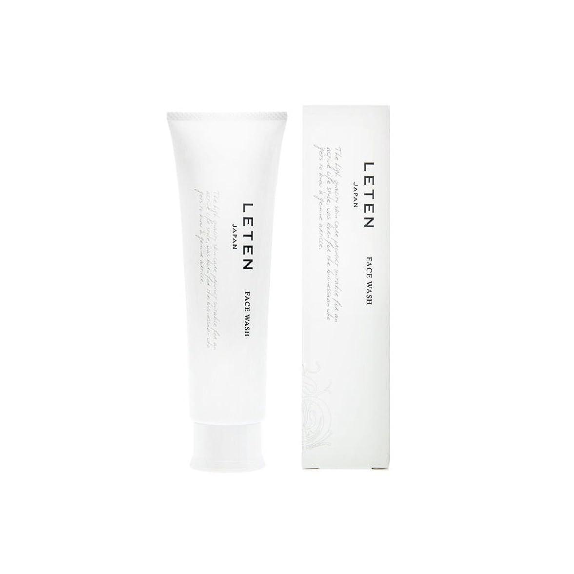 コールドボンド昇るレテン (LETEN) フェイスウォッシュ 100g 洗顔フォーム 洗顔料 敏感肌