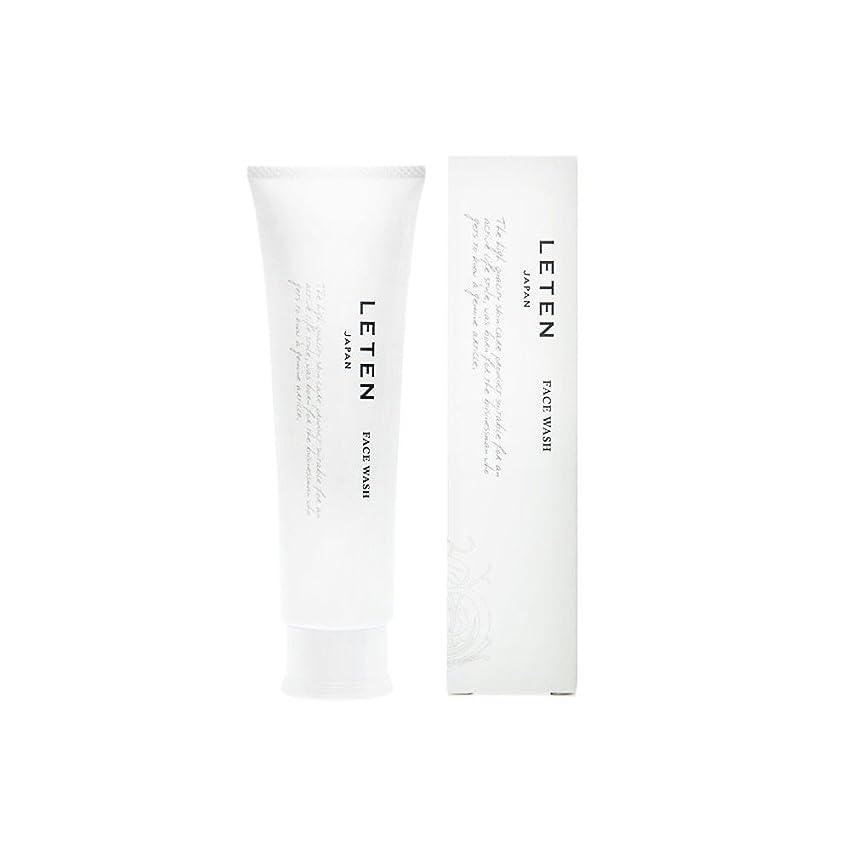 首尾一貫した後退する定常レテン (LETEN) フェイスウォッシュ 100g 洗顔フォーム 洗顔料 敏感肌