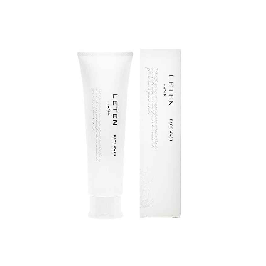 大騒ぎナンセンスインターネットレテン (LETEN) フェイスウォッシュ 100g 洗顔フォーム 洗顔料 敏感肌