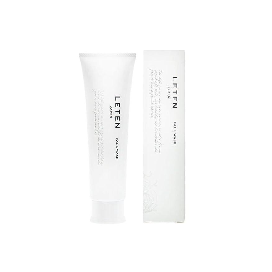 識別概要行進レテン (LETEN) フェイスウォッシュ 100g 洗顔フォーム 洗顔料 敏感肌