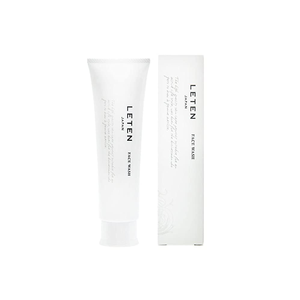 保証するアラバマ局レテン (LETEN) フェイスウォッシュ 100g 洗顔フォーム 洗顔料 敏感肌