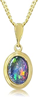 """Opal Necklace by Alcheri 