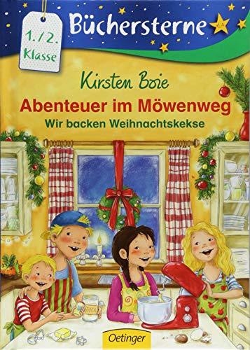 Abenteuer im Möwenweg: Wir backen Weihnachtskekse (Büchersterne)