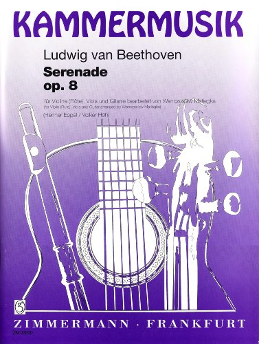 Serenade d-Dur Op 8. Flöte, Gitarre