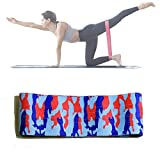 Yoga Resistance Band ZY-001 Yoga Stretch Band Hip Movement Resistance Band Rally, Home Bodybuilding Band Size: S Home Fitness Band (Color : Camouflage)