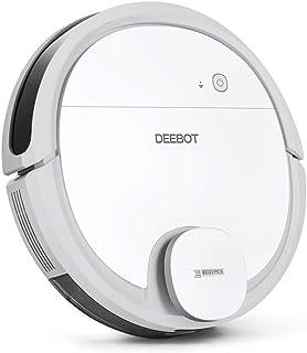 【掃除・水拭き両用】DEEBOT OZMO 901 エコバックス ロボット掃除機 マッピング機能 バーチャルウォール 拭き掃除 強力吸引 除菌率99.26% フローリング/畳/カーペット掃除 マホ連動 Alexa対応 ホワイト ECOVACS直営店限定2年保証